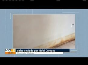 VC no MG: Confira os vídeos enviados pelos telespectadores - Morador de Governador Valadares mostra a sujeira de pó de minério na cidade.