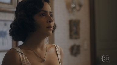 Carlos exige que Isabel se afaste de Felício - Ele diz que não vai contar nada pois não quer que a mãe sofra esse desgosto