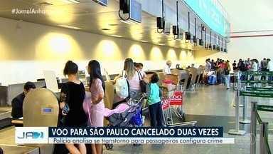 Passageiros denunciam cancelamento de voo para São Paulo, em Goiânia - A empresa Azul, disse que o voo foi cancelado por conta de uma manutenção não programada do avião. E que os passageiros receberam assistência, e foram reacomodados em um voo reforço nesta sexta-feira (31).