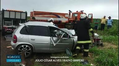 Homem morre em acidente no Sudoeste - Batida foi em Realeza. Vítima tinha 29 anos.