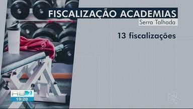 Conselho Regional de Educação Física realiza fiscalização em academias do Sertão - Conselho visitou cerca de 120 academias.