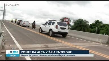 Ponte sobre o rio Moju é liberada, quase 10 meses de acidente com balsa - A ponte ficou interditada, trazendo prejuízo para quem precisava passar pela região.