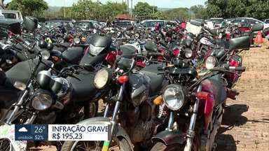 Detran faz operação sossego no DF - Apenas em janeiro, o Detran apreendeu 59 motos barulhentas.