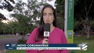 Comitê é criado para prevenir o coronavírus - MS criou um comitê que vai atuar em ações de prevenção à doença