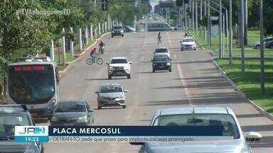 Detran do Tocantins pede adiamento no prazo para adesão a placa modelo Mercosul - Detran do Tocantins pede adiamento no prazo para adesão a placa modelo Mercosul