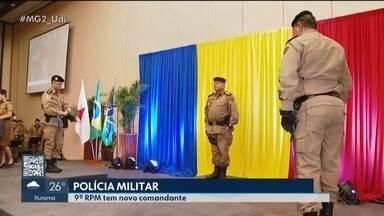 Novo comandante assume a 9ª Região da Polícia Militar em Uberlândia - Coronel Alex Augusto Chinelato de Souza é natural de Juiz de Fora e atuava em Montes Claros. Já o coronel Cláudio Vitor Rodrigues deixa o cargo para se aposentar.