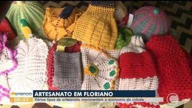 Vários tipos de artesanato movimentam a economia em Floriano - Vários tipos de artesanato movimentam a economia em Floriano