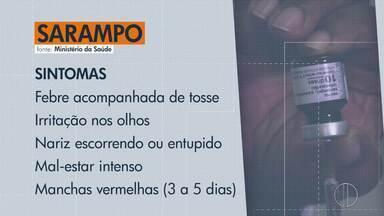 RJ1 destaca sintomas, perigo e quem deve se vacinar contra o sarampo - Doença avança pelo estado, 2 casos são confirmados e 27 suspeitos em Nova Friburgo.