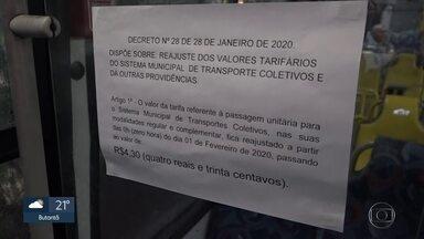 Passagem de ônibus sobe 50 centavos em Taboão da Serra - Reajuste foi determinado pela Justiça após prefeitura e empresa não chegarem a acordo
