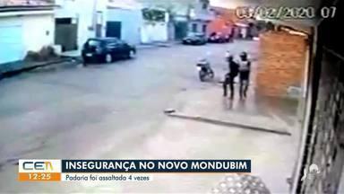 Padaria é assaltada pela 4ª vez no Mondubim - Saiba mais no g1.com.br/ce
