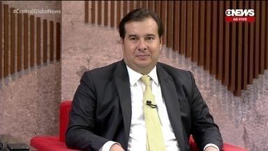 Rodrigo Maia e as pautas da Câmara dos Deputados em 2020
