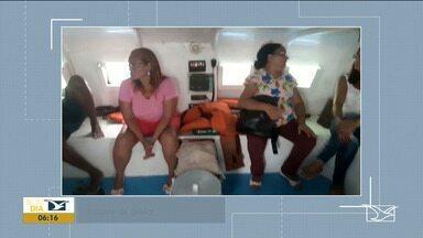 Catamarã fica à deriva após motor parar de funcionar em São Luís - Caso acontece um dia depois do choque entre dois ferry boats na capital.
