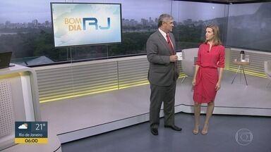 Bom dia Rio - Edição de quinta-feira, 06/02/2020 - As primeiras notícias do Rio de Janeiro, apresentadas por Flávio Fachel, com prestação de serviço, boletins de trânsito e previsão do tempo.