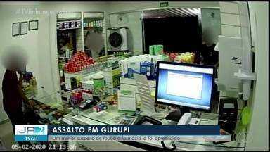 Menor é apreendido suspeito de assalto em farmácia de Gurupi - Menor é apreendido suspeito de assalto em farmácia de Gurupi