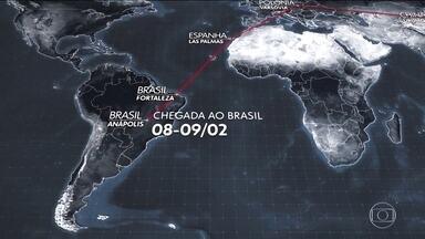 Aviões da FAB aguardam em Varsóvia autorização para pousar na China - Brasileiros que estão em Wuhan, onde começou o surto do novo coronavírus, devem chegar ao Brasil no sábado (8) à noite ou domingo (9) de madrugada.
