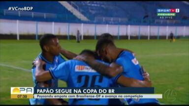 Brasiliense 1 x 1 Paysandu: veja os melhores momentos da classificação bicolor - Brasiliense 1 x 1 Paysandu: veja os melhores momentos da classificação bicolor