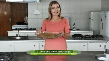 Assista ao bloco 03 do Caminhos do Campo do dia 09 de fevereiro de 2020 - Aprenda a fazer quibe de soja que não vai carne moída