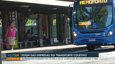 Dez novos ônibus com ar-condicionado não começaram a circular em Foz - A previsão é que em janeiro eles fizessem parte da frota.