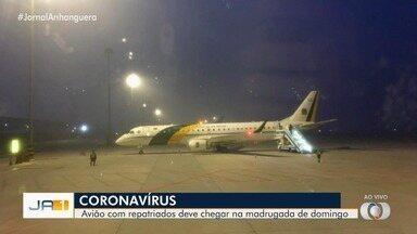Coronavírus: já estão na China aviões que vão trazer brasileiros para Anápolis - Brasileiros devem chegar na madrugada de sábado (8).