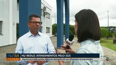 Hospital Regional reduz atendimentos pelo SUS - Alguns procedimentos eletivos deixarão de ser oferecidos à população.