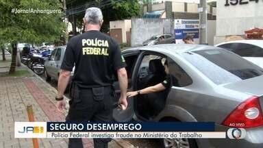 PF investiga fraudes no Ministério do Trabalho, em Goiás - De acordo com a PF dinheiro teria sido desviado do órgão.