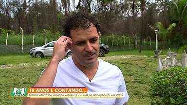 Última vitória do América-MG sobre o Cruzeiro no Mineirão foi em 2002 com gol de Tucho - Última vitória do América-MG sobre o Cruzeiro no Mineirão foi em 2002 com gol de Tucho
