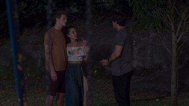 Rui pede que Rita acredite que ele mudou - Rita desconfia da proposta de Rui de dividir a guarda de Nina com Lígia