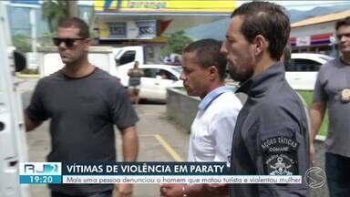 Mais vítimas denunciam suspeito de matar turista e estuprar mulher em Paraty - Casal passava férias em imóvel alugado na Praia do Sono quando foi atacado.