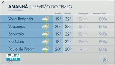 Sábado segue com tempo instável no Sul do Rio de Janeiro - Há possibilidade de pancadas de chuva em algumas cidades da região.