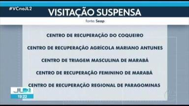 Cinco presídios do Pará continuam com visitas suspensas - São os centros de recuperação do Coqueiro, Mariano Antunes, Feminino de Marabá, Regional de Paragominas e o Centro de Triagem Masculina de Marabá.