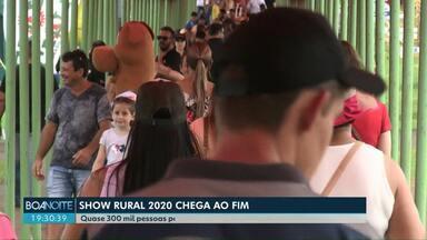 Show Rural 2020: feira termina com recorde de público e negócios fechados - Quase 300 mil pessoas visitaram a feira. R$ 2,5 bilhões foram negociados nos cinco dias de evento.