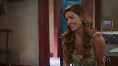 Alexia sugere que Kyra seja babá dos filhos de Alan - Enquanto isso, os filhos do rapaz aprontam todas com a nova babá