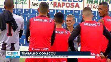 João Severo comanda treino como novo técnico do Barbalha - Confira mais notícias em g1.globo.com/ce