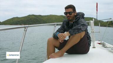 'Vai Encarar?': Gustavo Garcia vai até a Ilha da Âncora, em Búzios, no RJ - Segundo mergulhadores mais experientes, o lugar paradisíaco é um local onde tem muita vida marinha e animais aquáticos perigosos.