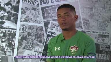 Marcos Paulo deve voltar a ser titular contra o Botafogo - Marcos Paulo deve voltar a ser titular contra o Botafogo