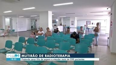 Campo Grande recebe mutirão de radioterapia - A intenção do mutirão é zerar em duas semanas a fila de pacientes que precisam de radioterapia.