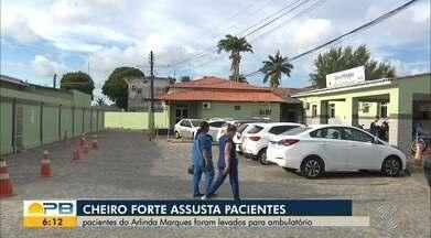 Cheiro forte assusta pacientes de hospital em João Pessoa - Confira os detalhes com o repórter Hebert Araújo.