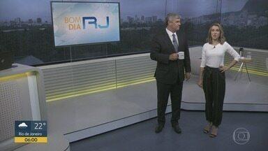 Bom dia Rio - Edição de terça-feira, 11/02/2020 - As primeiras notícias do Rio de Janeiro, apresentadas por Flávio Fachel, com prestação de serviço, boletins de trânsito e previsão do tempo.