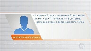 Mulher denuncia racismo de motorista de aplicativo em Curitiba - Em áudios gravados, o motorista ofende e ameaça a passageira.