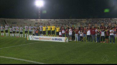 Reportagem sobre Campinense 0 x 0 Atlético-MG, pela primeira fase da Copa do Brasil - Empate sem gols na Paraíba classificou o Galo Mineiro para a próxima fase
