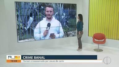 Homem é morto a tiros no RJ e antigo dono do carro da vítima confessa crime - Crime aconteceu nesta quarta-feira (12) no Parque Prazeres, em Campos.