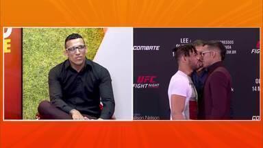 """Charles do Bronxs promete """"calar a boca"""" de Kevin Lee no UFC Brasília - Charles do Bronxs promete """"calar a boca"""" de Kevin Lee no UFC Brasília"""