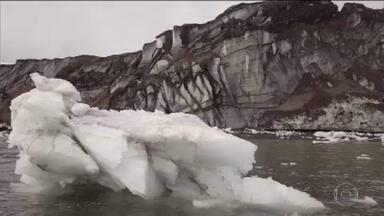 Cientistas brasileiros registram temperatura recorde de 20,75ºC na Antártica - É a mais alta temperatura da história das medições na Antártica. Registro aumenta a pressão para que a comunidade internacional reduza as emissões de gases estufa.