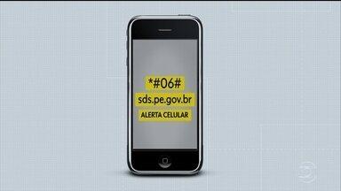 Saiba como cadastrar o aparelho telefônico no sistema Alerta Celular - Medida auxilia a investigação da polícia em busca do aparelho em caso de furto ou roubo.