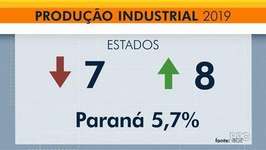 Cresce produção industrial no Paraná - Paranaenses tiveram o melhor resultado do país com alta de 5,7%.
