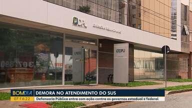 Pacientes reclamam da demora no atendimento do SUS - Defensoria Pública entra com ação contra os governos estadual e federal.