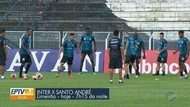 Inter busca terceira vitória consecutiva no Paulistão em jogo contra o Santo André - Adversário é dono da melhor campanha do campeonato. Jogo é nesta sexta-feira (14), no Limeirão.