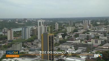 Confira a previsão do tempo para o fim de semana - Tempo deve ficar nublado em algumas cidades.