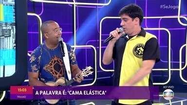 Dudu Nobre e Marcelo Adnet cantam juntos no 'Se Joga' - Confira a 'Batalha do Samba'
