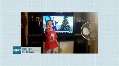 Crianças chamam o intervalo do Meio Dia PR - Mande o seu vídeo também.